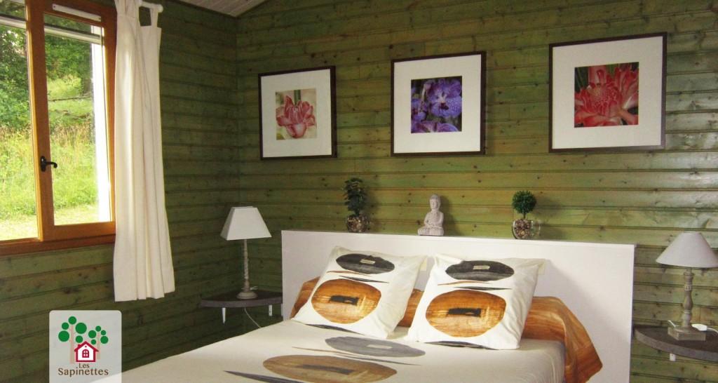 Les Sapinettes location vacances Bergerac : Chambre