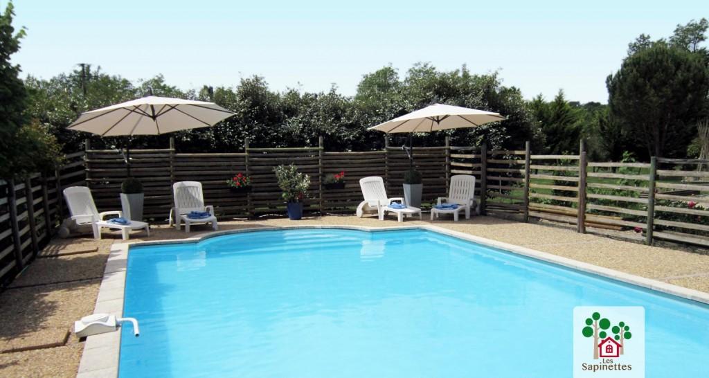 Piscine priv e dans votre location de vacances dans le - Location de piscine privee ...