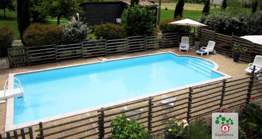 Les Sapinettes location vacances Bergerac : Piscine
