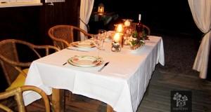 Les Sapinettes location vacances Bergerac : La terrasse de nuit